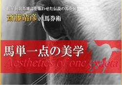 馬単1点の美学(斎藤靖彦の馬券術)の口コミ・評判・評価