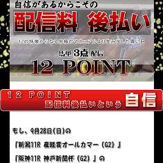 12POINT(トゥエルブポイント)の口コミ・評判・評価