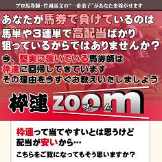 枠連zoom(ワクレンズーム)の口コミ・評判・評価